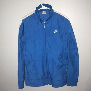 Blue vintage Nike Windbreaker